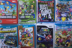Wii U Games for Sale in Irwindale, CA