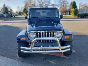 2005 Jeep Wrangler Rocky Mountain Edition for Sale in Marysville, WA