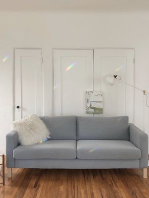 IKEA KARLSTAD Grey Couch for Sale in Beverly Hills, CA