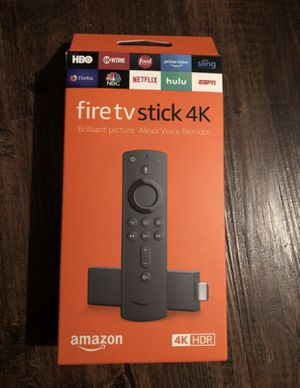 Fire TV Stick 4K Amazon for Sale in Coppell, TX