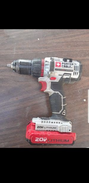 Porter cable 20v drill for Sale in Los Angeles, CA