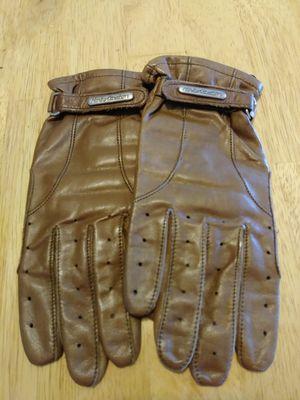 Ladies Brown Harley Davidson Gloves for Sale in Lebanon, TN