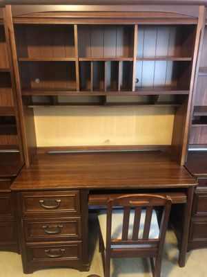 Stanley Young America kids/teens writing desk and book shelves for Sale in Newport Beach, CA