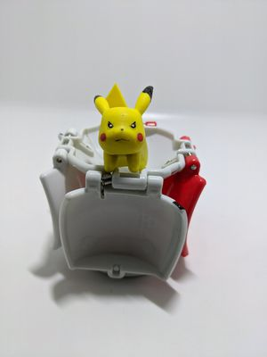 Pokemon Tomy Throw 'n' Pop Pokeball Pikachu Ball Cubone Limited Repeat Ball for Sale in Webster, MN