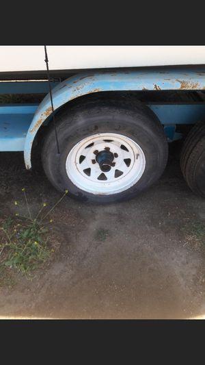 Trailer tires 16.75/ 8.75 for Sale in Riverside, CA