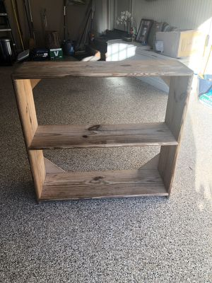 Custom Made a Wooden Bookshelves Class Extra Tall Shelves Two Available! for Sale in Raleigh, NC