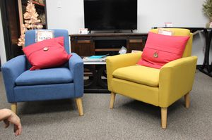Blue and Yellow Accent Chairs for Sale in Downey, CA