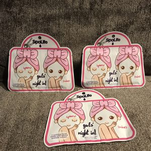 Spa Live Gals Night In Face Masks for Sale in Abington, MA