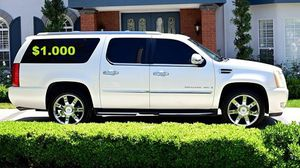 $1OO0 🔑I'm the first owner🍁and i want to sell my 2OO8 Cadillac Escalade🔑 for Sale in Dallas, TX