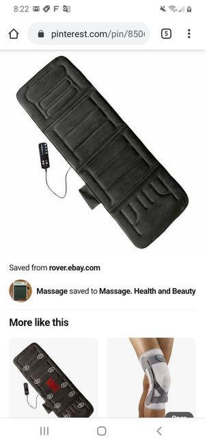 Prevari 10 Motor Full Body Massage Mat for Sale in Orlando, FL