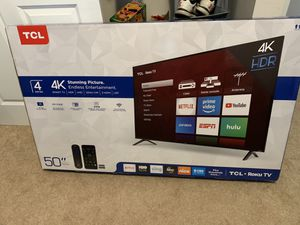"""50"""" TCL for Sale in Gahanna, OH"""