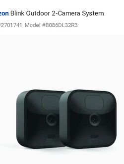 2 Camera security system for Sale in San Angelo,  TX