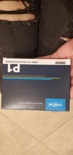 Crucial Micron 2GB Solid State Drive SSD M.2 for Sale in Brea, CA