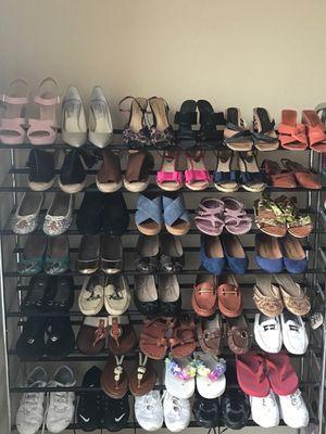 WOMEN'S SHOES size 7 and 7 1/2, Michael Kors-Vince Camuto-Ralph Lauren-Coach-Nine West- etc. Flats, Middle Heels, Pumps, Sandals, Wedges, Sneakers for Sale in Houston, TX
