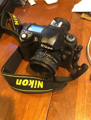 Nikon D70 with 50mm lens & All original Accessories for Sale in Fort Worth, TX
