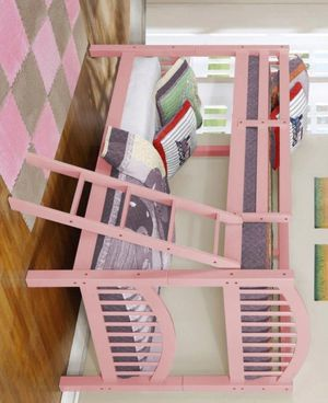 ✔✔✔✔SALE Honey Pink Twin/Twin Bunk Bed | 4472P for Sale in Jessup, MD
