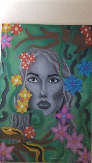 Original Mother Nature Chalk Pastel for Sale in Monico, WI