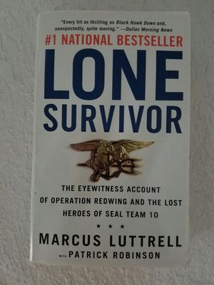 Lone survivor Marcus luttrell for Sale in Tuscola, TX