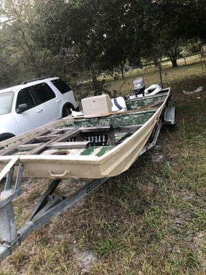 Aluminum craft 18 ft for Sale in Orlando, FL