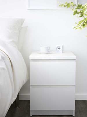 IKEA MALM 2 drawer set in white. for Sale in Silver Spring, MD