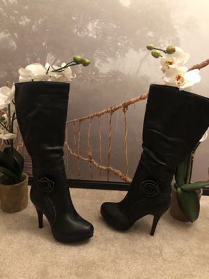 Thigh High Leather Boots for Sale in Voorhees Township, NJ
