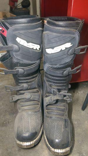 Msr dirt bike boots for Sale in Clovis, CA