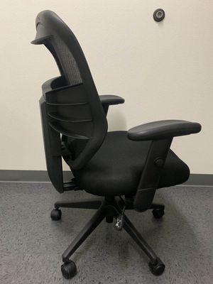 NEW HON Model HVL530 Armrest Height Tilt Backrest Adjustment Office Computer High Back Chair Blavk Mesh for Sale in Whittier, CA