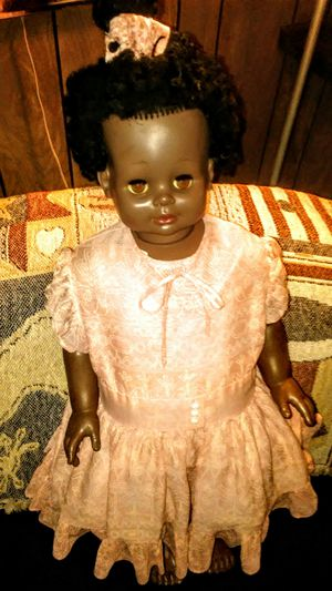 Antique. Euguene doll company doll stands we inches tall for Sale in Saint George, SC