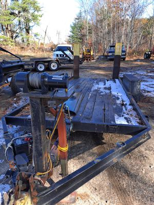 """USED UTILITY TRAILER 16' x 6' 6"""" GVW 7000 LBS $1800.00 or BEST OFFER for Sale in Derry, NH"""