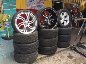 Intros Billets! 26s for Chevy or Ford! dodge rims! And more! for Sale in Pasadena, TX