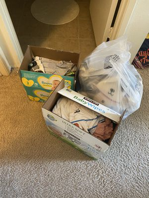 Baby boy clothes Free for Sale in El Cajon, CA