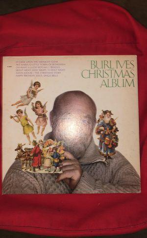 Record: burl ives christmas album for Sale in Arlington, VA