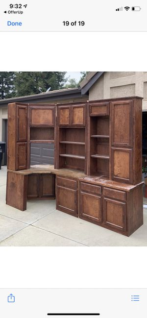 Wall unit for Sale in Visalia, CA