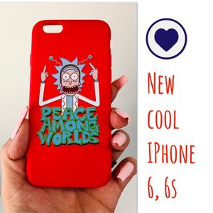 New cool regular iphone 6 or 6s case rubber rick and morty Cartoon Network hypebeast hype swag men's women's for Sale in San Bernardino, CA