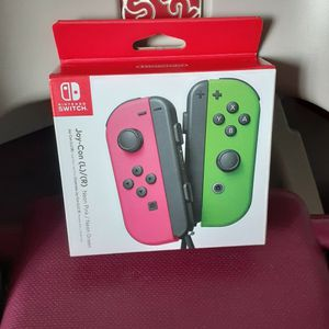 Joy-Con (L/R) Wireless Controllers for Nintendo Switch - Neon Pink/ Neon Green. for Sale in San Leandro, CA