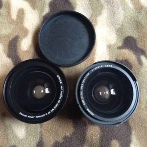 2 fish eye adapter lenses for Sale in Sacramento, CA