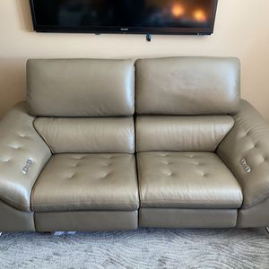 ROCHE BOBOIS Cinétique / Power Reclining Sofa / Cow Leather for Sale in San Diego, CA