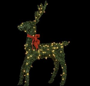 Brand New - 60 in. 150-Lights Standing Topiary Buck for Sale in Newtonville, NY