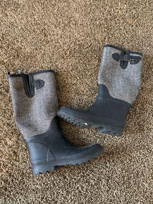 Banana Republic Blue Rain Boots Size 8 Womens. for Sale in Riverdale, GA