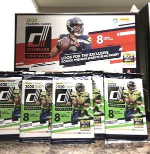 Donruss 2020 NFL Football trading cards for Sale in Huntington Beach, CA