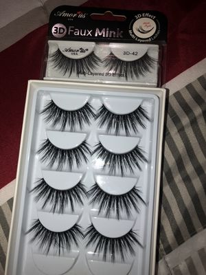 5 pairs of eyelashes for Sale in Atascadero, CA