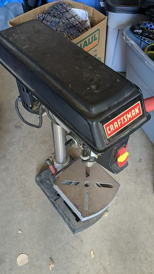 Craftsman drill press for Sale in Lakewood, CO