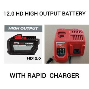 Milwaukee RAPID CHARGER + High Output Battery for Sale in Baltimore, MD