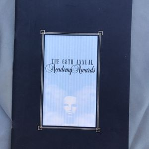 68th Annual Academy Awards Program for Sale in Los Angeles, CA