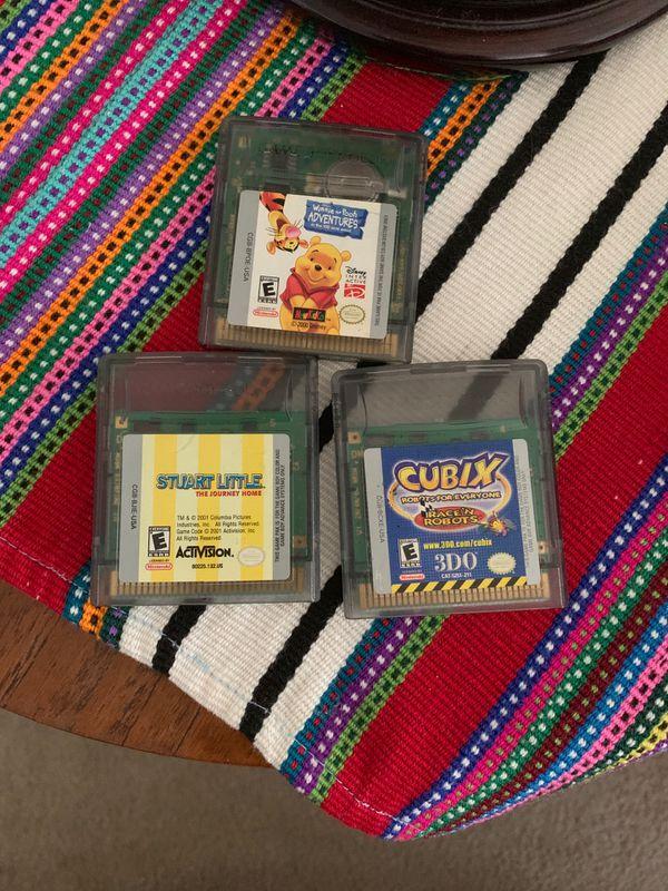 3 gameboy color games