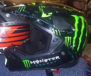 Bike Helmet Custom Made Monster for Sale in Wellsburg, NY