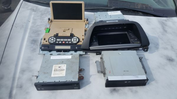 05 honda odyssey dvd entertainment and dvd navigation system