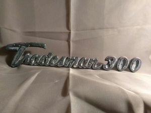 Vintage Dodge 1970's Original Tradesman 300 Trailer/RV)Emblem/Badge/Ornament/ Sign Chrome for Sale in Port Huron, MI