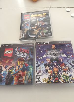 PlayStation 3 Video Games Lot of 3 for Sale in FL, US