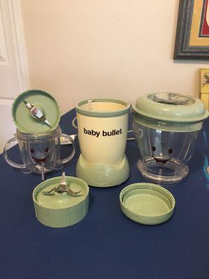 Blender & storage: Baby Bullet for Sale in Hollywood, FL